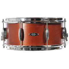 C&C 6.5x14 Player Date 1 Snare Drum Mahogany Stain