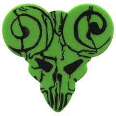Clayton Tenacious D The Guitar Picks of Destiny Functional Green Medium (6)