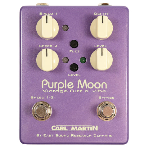 Carl Martin Purple Moon Vintage Fuzz and Vibe