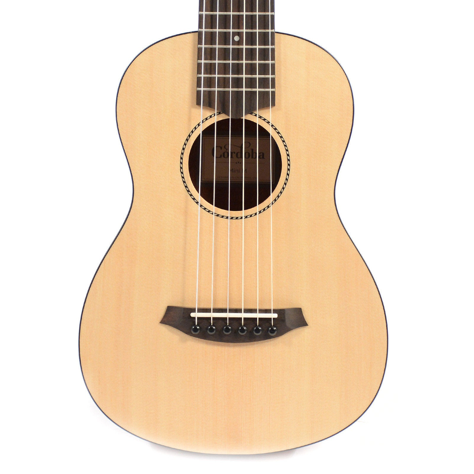 cordoba mini m nylon string acoustic guitar solid spruce mahogany chicago music exchange. Black Bedroom Furniture Sets. Home Design Ideas