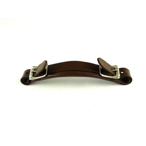 Allparts Replacement Handle for Gibson Style Case - Brown Leather