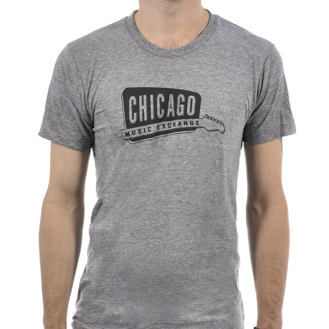 Chicago Music Exchange Classic Logo T-Shirt Eco Grey