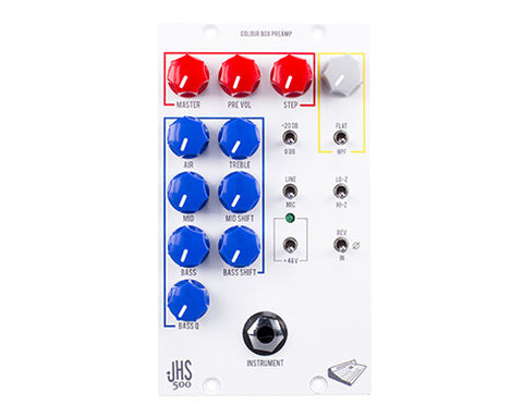 JHS Colour Box 500 Series Preamp EQ