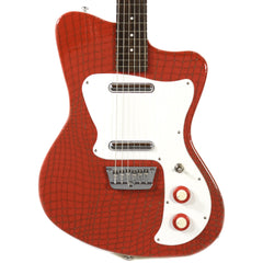 Danelectro '67 Heaven Hawk Guitar Red Alligator