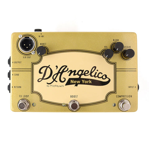 D'Angelico/ Pigtronix Jazz Pedal