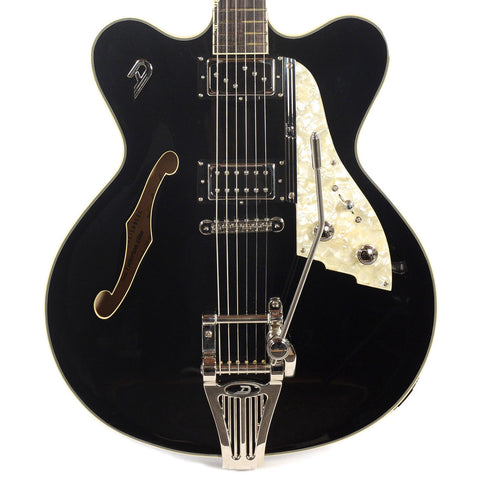 Duesenberg Fullerton Elite Semi-Hollow Body Black