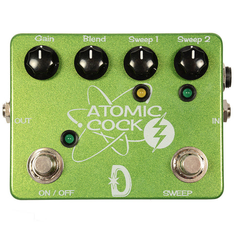 Daredevil Pedals Double Atomic Cock Fixed Wah and Boost