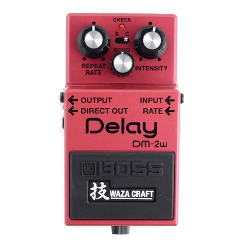 Boss DM-2W Delay Waza Craft Analog Pedal