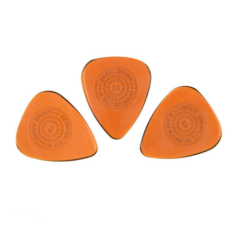 Dunlop 510P Primetone Sculpted Plectra Standard w/Grip Guitar Picks 1.30mm (3)