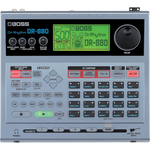 Boss DR880 Dr. Rhythm Drum Machine