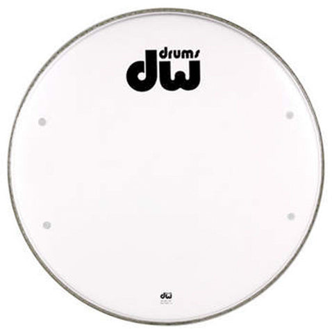 "DW 22"" Smooth Vented Head White"