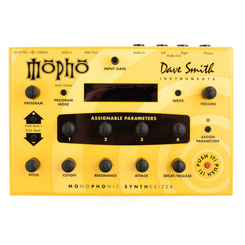 Dave Smith Instruments Mopho Monophonic Desktop Analog Synthesizer Module