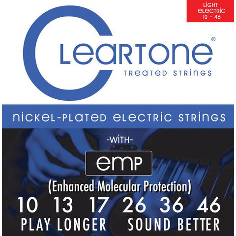 Cleartone Light Coated Electric Strings