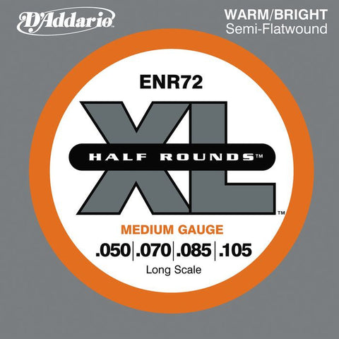 D\'Addario ENR72 Half Rounds Medium Bass Strings
