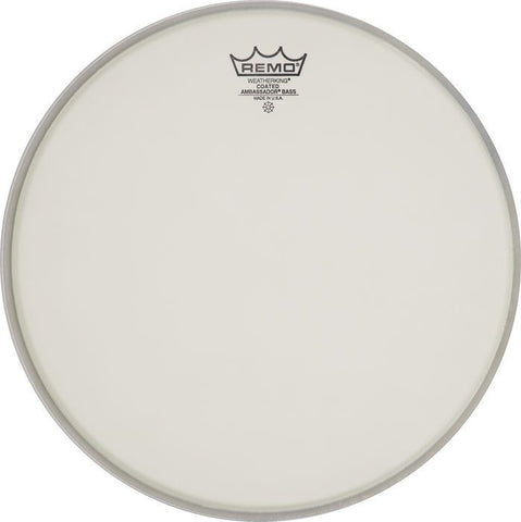 Remo 20 Inch Bass Ambassador Coated Drum Head