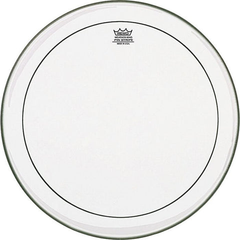 Remo 22 Inch Pinstripe Clear Bass Drum Head