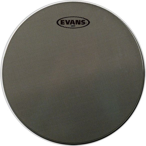 Evans 13 Inch Hybrid Snare Batter Coated Grey Drum Head