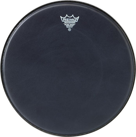 Remo 12 Inch Batter Black Suede Emperor Drum Head