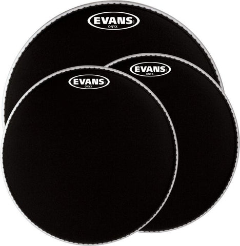 Evans 12 Inch Onyx 2 Ply Batter Head