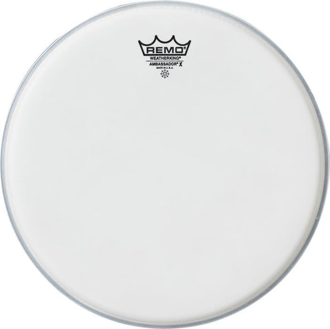 Remo 12 Inch Ambassador X Coated Drum Head