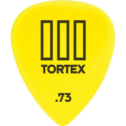 Dunlop Tortex T3 Sharp Guitar Picks .73mm (12)