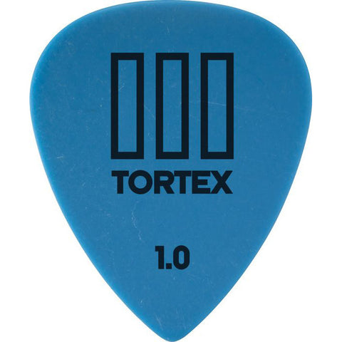 Dunlop Tortex T3 Sharp Guitar Picks 1.0mm (12)