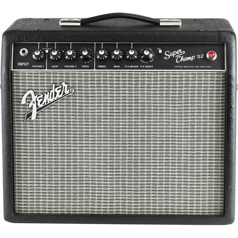 Fender Super-Champ X2 15W 1x10 Guitar Combo