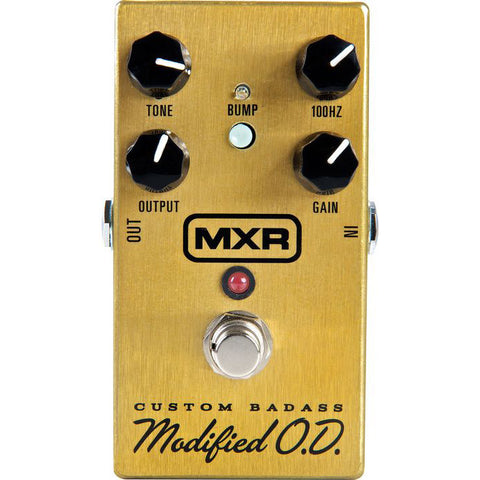 MXR M77 Custom Modified Badass Overdrive