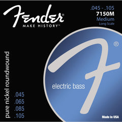 Fender 7150M Pure Nickel Long Scale Bass Strings 45-105
