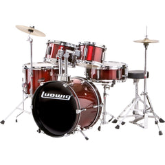Ludwig Junior Outfit Drum Set (Wine Red)