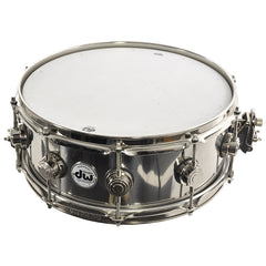 DW 5.5x14 Steel Snare Drum w/Nickel Hardware