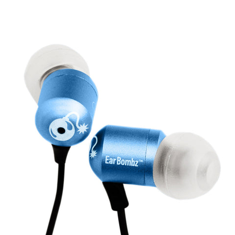MultiSonus Audio H-Bombz Earbuds - Blue