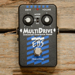 EBS Multi Drive Universal Bass Overdrive Pedal USED