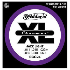 D'Addario ECG24 Chromes Ribbon Wound 11-50