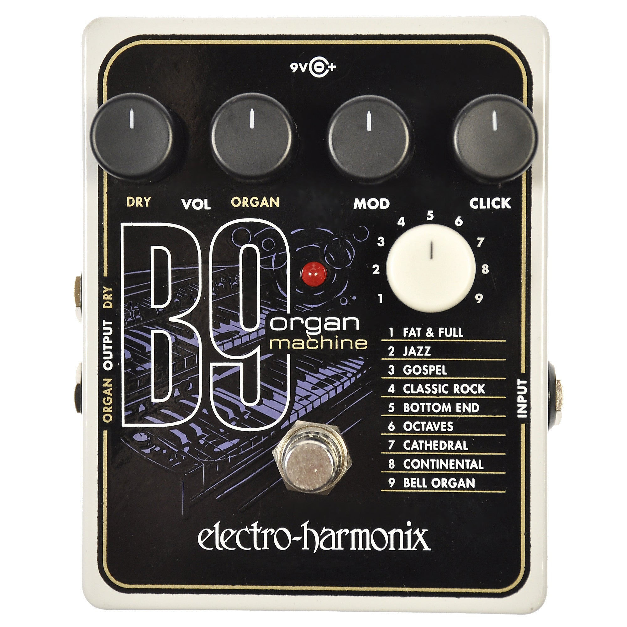 electro harmonix b9 organ machine chicago music exchange. Black Bedroom Furniture Sets. Home Design Ideas