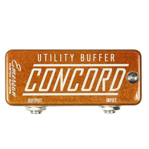 Emerson Concord Utility Buffer Orange Metallic