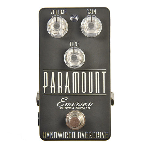 Emerson Paramount Handwired Overdrive Flat Black