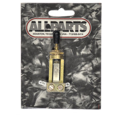 Allparts Switchcraft Gold Straight Toggle Switch