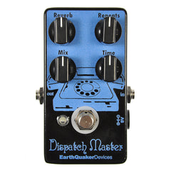 Earthquaker Devices Dispatch Master Digital Delay & Reverb Limited Edition Black/Blue