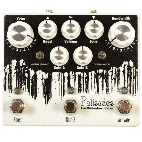 Earthquaker Devices Palisades Mega Ultimate Maximum Overdrive