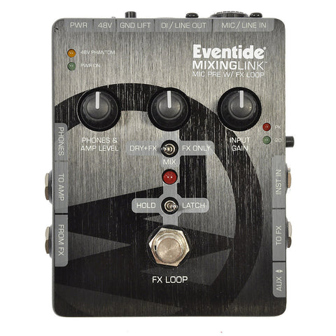Eventide Mixing Link High-Quality Microphone Preamp w/Effects Loop
