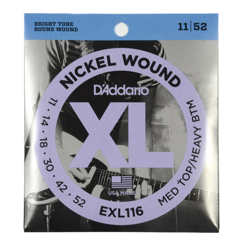 D'Addario EXL116 Electric Medium/Heavy 11-52