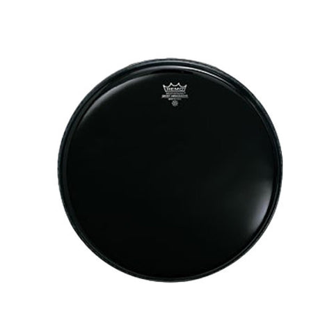 Remo 22 Inch Bass Ebony Ambassador Drum Head