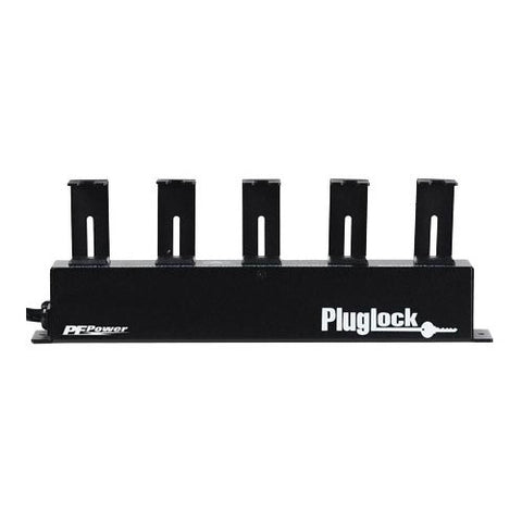Furman PlugLock-PFP 5-Outlet Circuit-Breaker Protected Locking Outlet Strip - 5' Cord