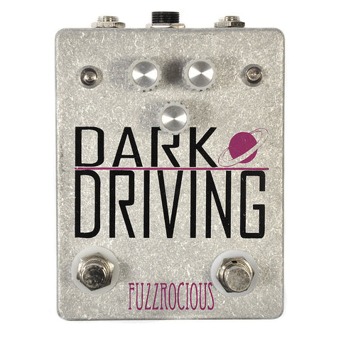 Fuzzrocious Dark Driving Overdrive Pedal