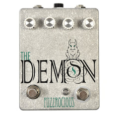 Fuzzrocious Demon Overdrive Pedal w/Momentary Feedback Mod