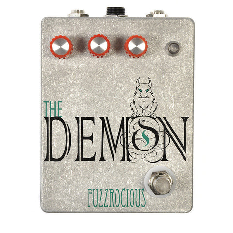 Fuzzrocious Demon Overdrive Pedal