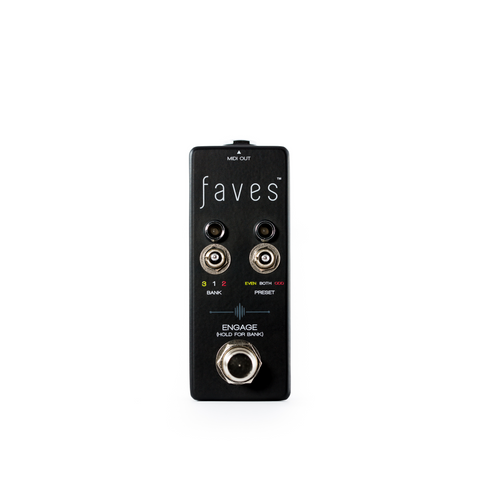 Chase Bliss Audio Faves Midi Controller