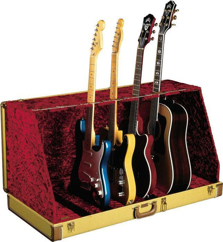 Fender Seven Guitar Case Stand - Tweed
