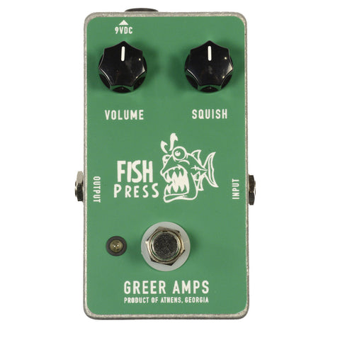 Greer Amps Fish Press Compressor